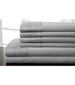Elite Home Products 1,000-Thread Count Lancaster 6-pc. Sheet Set