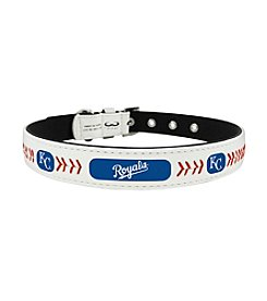 MLB® Kansas City Royals Classic Leather Baseball Pet Collar