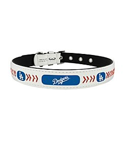 MLB® Los Angeles Dodgers Classic Leather Baseball Pet Collar