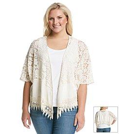 Taylor & Sage™ Lace Kimono