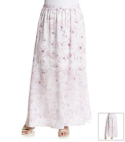 Taylor & Sage™ Plus Size Rose Maxi Skirt