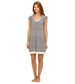 Ellen Tracy® Short Sleeve Chemise