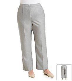 Alfred Dunner® Plus Size Lake Meade Solid Pull On Pant