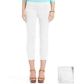 Lauren Jeans Co.® Cropped Denim Leggings