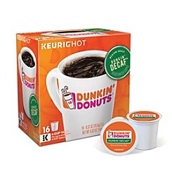Keurig® Dunkin' Donuts® Dunkin' Decaf® Coffee 16-Pk. K-Cup