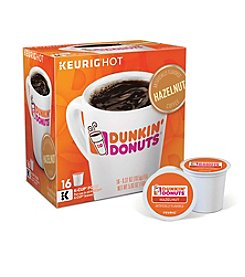 Keurig® Dunkin' Donuts® Hazelnut Coffee 16-Pk. K-Cup