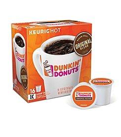 Keurig® Dunkin' Donuts® Original Blend Coffee 16-Pk. K-Cup