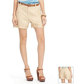 Lauren Ralph Lauren® Linen-Cotton Shorts