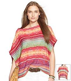 Lauren Ralph Lauren® Linen-Cotton Poncho