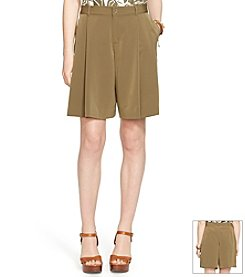 Lauren Ralph Lauren® Pleated Shorts