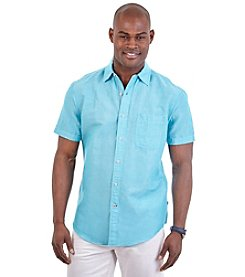 Nautica® Men's Short Sleeve Woven Button Down