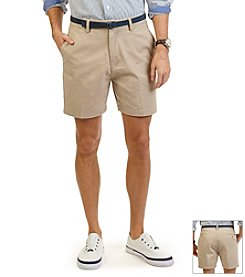 Nautica® Men's Flat Front Twill Short