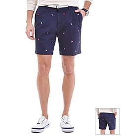 Nautica® Men's Flag Embroidered Short