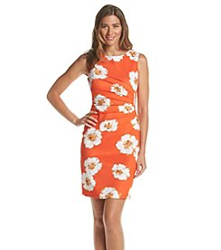 Ivanka Trump® Floral Burst Scuba Dress