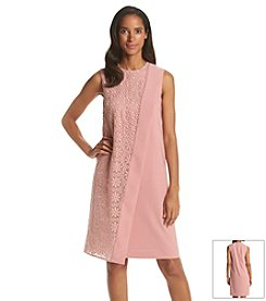 Anne Klein® Split Crepe Dress