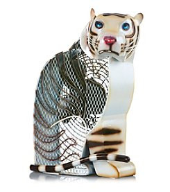 Deco Breeze White Tiger Figurine Fan