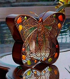 Deco Breeze Butterfly Figurine Fan