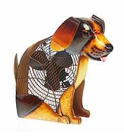 Deco Breeze Rover Dog Figurine Fan