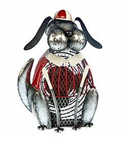 Deco Breeze Bogey Dog Figurine Fan