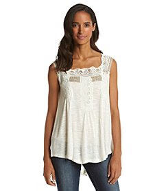 Vintage America Blues™ Lace Embroidery Top