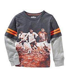 OshKosh B'Gosh® Boys' 2T-7 Layered Soccer Top