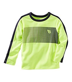 OshKosh B'Gosh® Boys' 2T-7 Long Sleeve Neon Tee