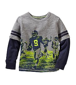 OshKosh B'Gosh® Boys' 2T-7 Football Layered Tee