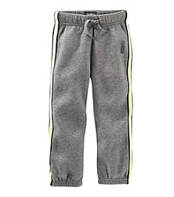 OshKosh B'Gosh® Boys' 2T-7 Striped Fleece Pants