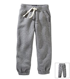 OshKosh B'Gosh® Boys' 2T-7X Logo Fleece Pants