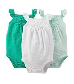 Carter's® Baby Girls' 3-Pack Bodysuit
