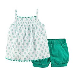 Carter's® Baby Girls' 2-Piece Shorts Set