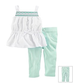 Carter's® Baby Girls' 2-Piece Pants Set