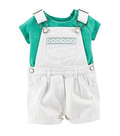 Carter's® Baby Girls' 2-Piece Shortall Set