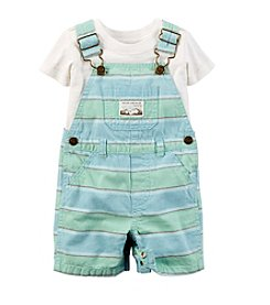 Carter's® Baby Boys' Shortall Set
