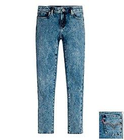 Levi's® Girls' 7-16 Five-Pocket Weekender Jeans - Solid Wash style