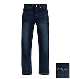 Levi's® Girls' 5-Pocket Weekender Jeans - Dark Wash style