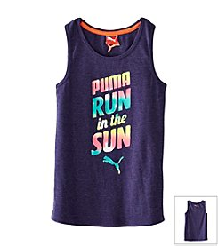 PUMA® Girls' 7-16 Run In The Sun Tee