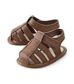 Cuddle Bear® Baby Boys Brown Sandal Soft Sole