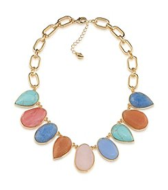 Carolee® Goldtone Caspian Sea Collar Necklace