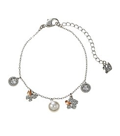Swarovski® Two Tone Cute Soft Bracelet