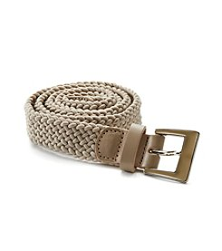 Fashion Focus Braided Stretch Belt