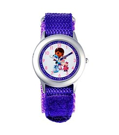 Disney® Doc McStuffins Girls' Stainless Steel Purple Watch