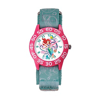 Disney® Ariel Girls' Plastic Blue Watch