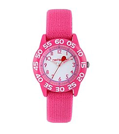 Red Balloon Girls' Plastic Tween Pink Watch