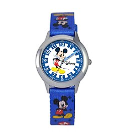 Disney® Boys' Mickey Mouse Time Teacher Watch