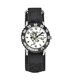 Disney® Boys' Buzz Black Time Teacher Watch