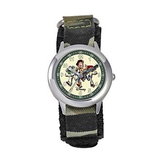 Disney® Boys' Toy Story Camo Time Teacher Watch