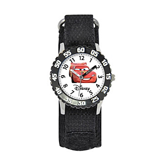 Disney® Boys' Cars Black Time Teacher Watch
