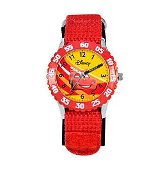 Disney® Boys' Cars Red Time Teacher Watch