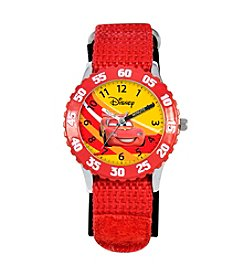 Disney® Boys' Cars Red Time Teacher Watch